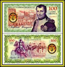 Billet Commémorative 100 Cent Francs Napoléon Bonaparte 2020 POLYMÈRE Private