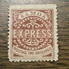 British Oceania: Samoa - Scott's  # 7 - issued in 1879  -  NG