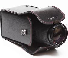"Vintage Sigma Hard Lens Case NC-02 For Telephoto Zoom Prime Lenses 5 3/4"" High"