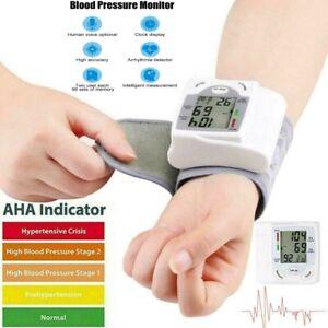 HOT Automatic Digital Wrist Blood Pressure Monitor Cuff Machine Home Test Device