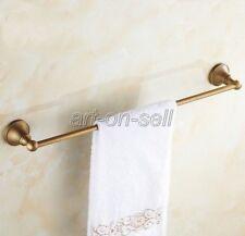 Wall Mounted Brass Finish Bathroom Single Towel Rails Antique Towel Rack aba147
