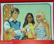 figurines prentjes cromos stickers picture cards figurine barbie 179 panini 1983