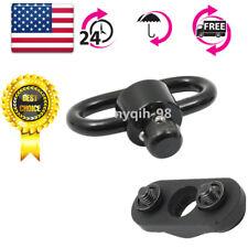 Push Button QD QR Quick Release Detach Keymod Sling Swivel Mount Rail Adapter
