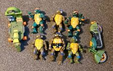Vintage Teenage Mutant Ninja Turtles Figures with Vehicles