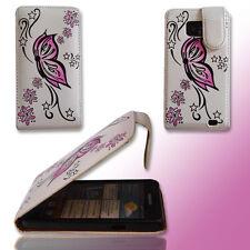 Design 2 Handy Flip Tasche Cover Case Hülle Etui für Samsung i9100 Galaxy S2