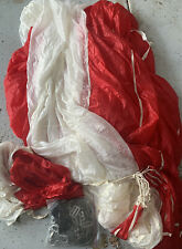 1976 26 foot conical Parachute With White Bag