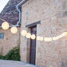 SEHR GUT: 20er Lampion LED Lichterkette koppelbar Innen Außen Lights4fun