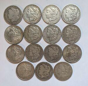 Mini Set of 15 All Different Morgan Silver Dollars