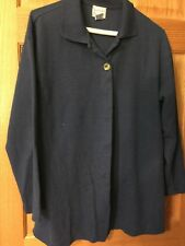 Hastings And Smith Light Weight Jacket Shirt Womens Small