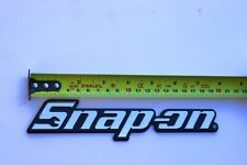 Snap on Tools Toolbox Logo Nameplate Brand New w/ Mounting Adhesive Collectable