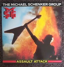 "Michael Schenker Group 'Assault Attack"" MSG Vinyl LP Inc. Merch Insert"
