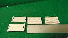 (2) Amphenol Spectra Strip 24 Pin DIP Ribbon Cable Connectors NOS