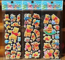 Winnie the Pooh Bubble Stickers Party Favours - 10 sheets