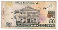 50 DOLLARS SURINAME 1-1-2004