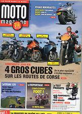 ** Moto Magazine n°229 Moto Guzzi 1200 Norge  Systèmes de repérage par satellite