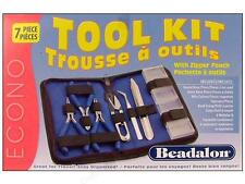 Beadalon 7 piece Tool Kit Complete with Zipped Pouch (202K-030 )