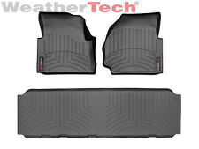 WeatherTech Floor Mats FloorLiner for Land Rover Defender - 2007-2014 - Black