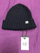 Para Hombre Auténtico completamente nuevo con etiquetas CP Company Sombrero. Company. piedra. Azul. isla. £ 59.
