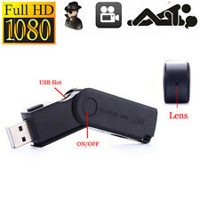 FHD 1080P Mini USB Flash Camera U Disk hidden Spy Video Recorder Camcorder DVR