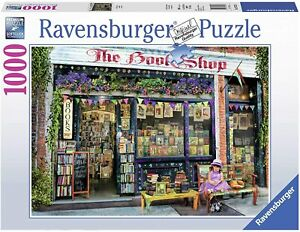 Ravensburger THE BOOKSHOP 1000 Pc Puzzle Jigsaw Soft Click New Gift Kid Adult