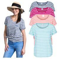 Trespass Womens T-Shirt Short Sleeve Casual Summer Top Fleet