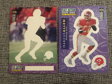 Marcus Allen 1996 Collector's Choice Update Stick-Ums Lot: S3 & Smb7 Chiefs