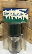 Vintage Camping Mini Espresso Maker With Cup Brand New Never Used
