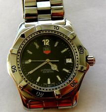 TAG HEUER 200m  wk1111=1  men's stainless steel divers watch