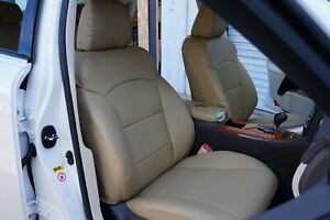 LEXUS IS 250 350 2006-2012 IGGEE S.LEATHER CUSTOM SEAT COVER 13 COLORS AVAILABLE