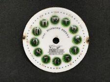 Fancy Gre. Roskopf Patent Pocket Watch Dial, Railroad Motif Sz 16s | 22791