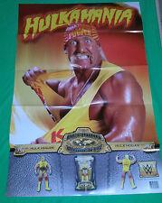 "Wwe Hulk Hogan Wrestling Poster 24"" x 36"" Mma * Figures Wwf Wcw Tna"