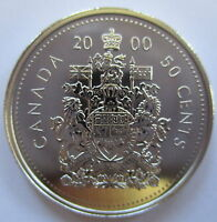 2000 CANADA 50 CENTS SPECIMEN HALF DOLLAR COIN
