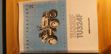 Iseki Tractor TU320F TU324F 4WD Operators Manual