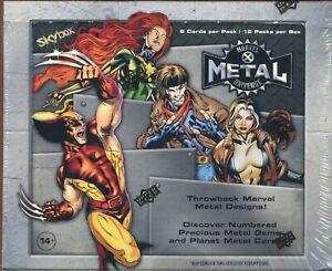 Marvel X Men Metal Universe Factory Sealed Trading Card Hobby Box