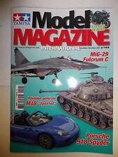 Magazine Tamiya Model n°144 Bimestriel Novembre/Décembre 2016