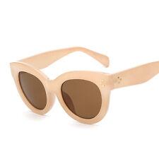 Audrey Fashion Retro Glasses Rivets Vintage Women Sunglasses Cat Eye New 2017