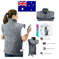Auto Off Electric Heating Pad Winter Warmer Therapy for Neck Shoulder Back Leg