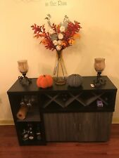 Hutch Buffet With Wine Rack