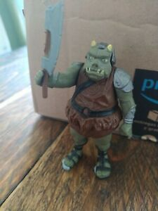 Vintage Star Wars Gamorrean Guard Figure + Original Axe 1983 COO Macau
