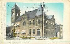 1908 City Building, Champaign, Illinois Postcard