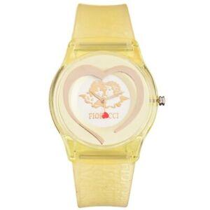 Fiorucci Uhr FR140_1 Kinderuhr Mädchen Gelb Herz  Children's Watch NEU & OVP