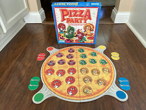 Vintage Pizza Party Board Game 1987 Parker Brothers COMPLETE
