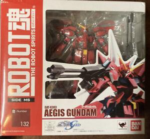 Bandai Robot Spirits Damashii Mobile Suit Gundam Seed Aegis Action Figure