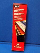 66 pcs Ibico CombBind Black Plastic Binding Combs 1/4