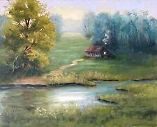 Originale künstlerische Öl Landschaften & Städte-der Zeit 1900-1949 Malereien