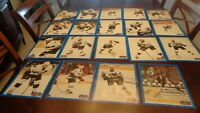 Lot of  Diff 19 2000-01 Springfield Falcons AHL Hockey Photos - Phoenix Coyotes