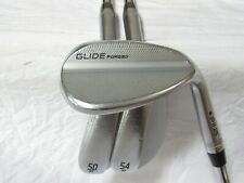 Used RH Ping Glide Forged Black Dot 50* 54* 58* Wedge Set - Wedge Flex Steel