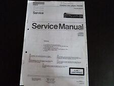 Service MANUAL MARANTZ COMPACT DISC PLAYER 74cd40