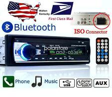 Car Radio Bluetooth 1 DIN In Dash 12V SD/USB IPOD Aux Input FM Stereo Head Unit