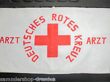 25763 Alte Armbinde Deutsches Rotes Kreuz antique german red cross armlet Arzt